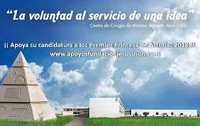 Agradecimiento por el apoyo a la candidatura del CCMIJU al Premio Princesa de Asturias