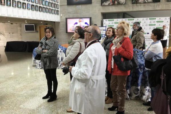 Representantes de los Colegios de Veterinarios de España visitan el CCMIJU